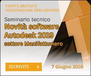 Seminario Tecnico - Novità Autodesk 2019